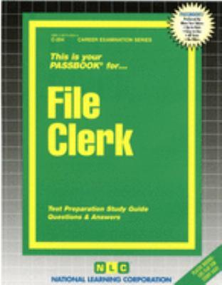 File Clerk 9780837302546