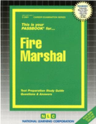 Fire Marshal 9780837324012