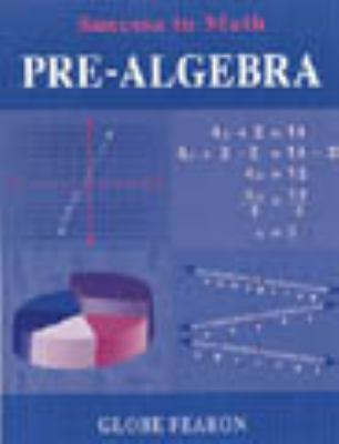 GB Success in Math: Pre-Algebra Se 96c. 9780835911825