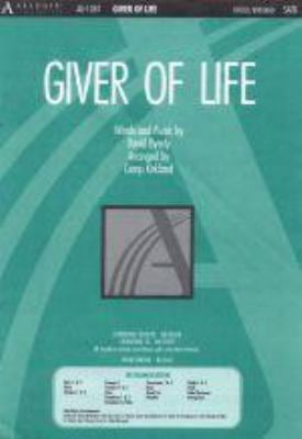 Giver of Life 9780834170582