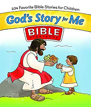 God's Story for Me: 104 Favorite Bible Stories for Children [With Sticker(s)] 9780830748129