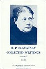 Collected Writings of H. P. Blavatsky, Vol. 5 9780835601177