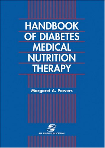 Handbook of Diabetes Medical Nutrition Therapy 2e 9780834206311