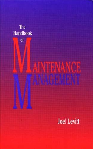Handbook of Maintenance Management 9780831130756
