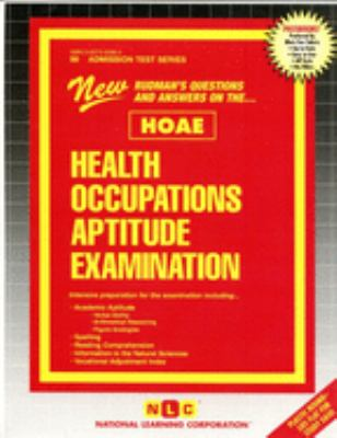 Health Occupations Aptitude Examination (Hoae) 9780837350981