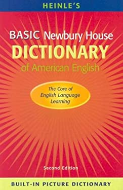 Heinle's Basic Newbury House Dictionary of American English with Built-In Picture Dictionary (Paperback) 9780838426562