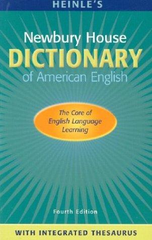 Heinle's Newbury House Dictionary of American English [With CDROM] 9780838426579