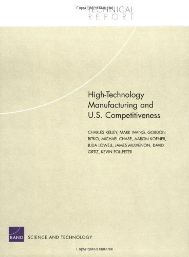 High Technology Manufacturing and U.S. Competitiveness 9780833035646