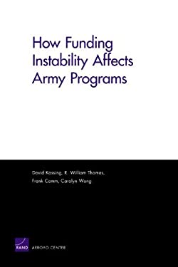 How Funding Instability Affects Army Programs 9780833041777