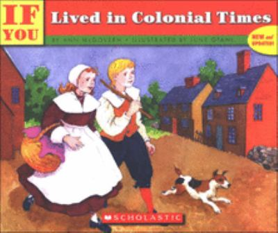 If You Lived in Colonial Times 9780833587763