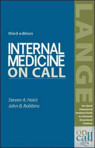 Internal Medicine on Call 9780838542781