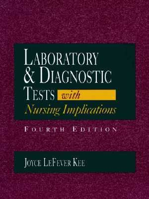 Laboratory Tests and Diagnostic Procedures 9780838555736