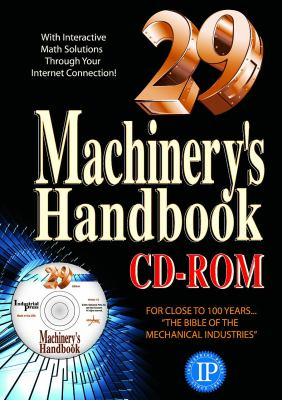 Machinery's Handbook [With CDROM] 9780831129040