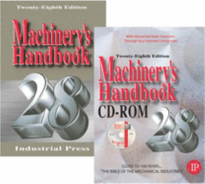 Machinery's Handbook [With CDROM] 9780831128289