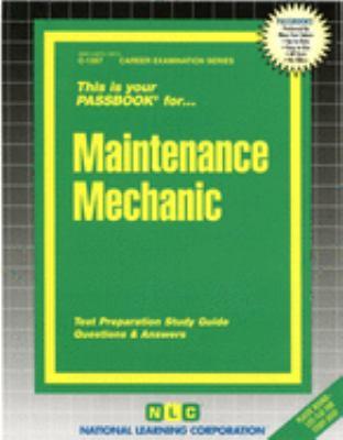 Maintenance Mechanic 9780837313573