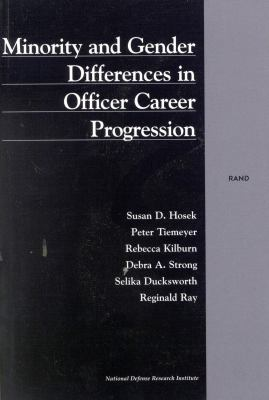 Minority and Gender Differences in Officer Career Progression (2001) 9780833028761