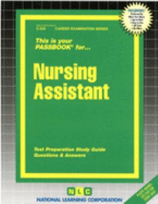 Nursing Assistant 9780837305349