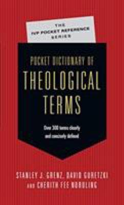 Pocket Dictionary of Theological Terms 9780830814497
