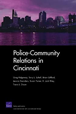 Police-Community Relations in Cincinnati 9780833046567