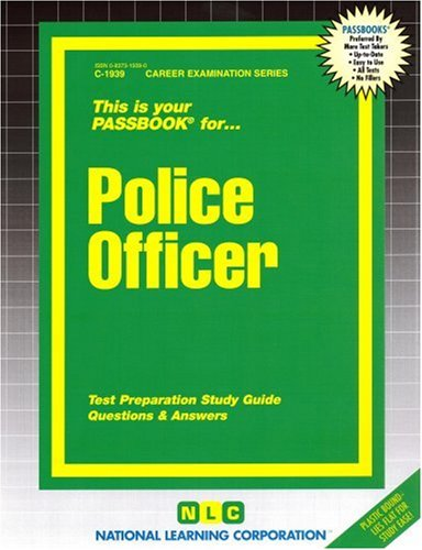 Police Officer 9780837319391