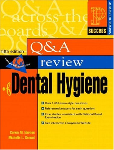 Prentice Hall Health Question and Answer Review of Dental Hygiene 9780838503423