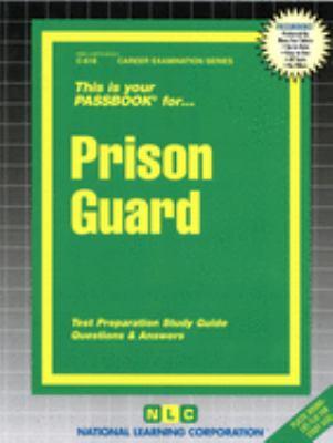Prison Guard 9780837306186