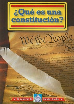 Que Es una Constitucion? = What Is a Constitution? 9780836888782