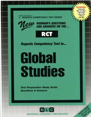 RCT Global Studies: New Rudman's Questions and Answers on The...Regents Competency Test 9780837364056