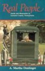Real People: Amish and Mennonites in Lancaster County, Pennsylvania 9780836136166