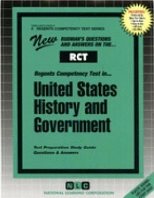 Regents Competency Test In...United States History and Government 9780837364063
