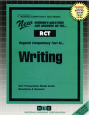 Regents Competency Test in Writing : New Rudman's Questions and Answer-ExLibrary