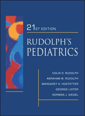 Rudolph's Fundamentals of Pediatrics: Third Edition 9780838584507