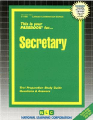 Secretary: Test Preparation Study Guide, Questions & Answers 9780837314662