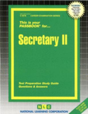 Secretary II 9780837335780
