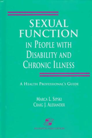 Sexual Function in People with Disablity and Chronic Illness