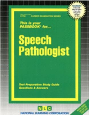 Speech Pathologist 9780837307558