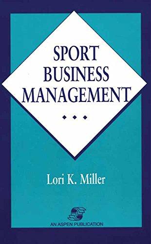 Sport Business Management 9780834209428
