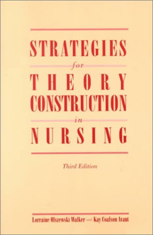 Strategies for Theory Construction in Nursing 9780838586884