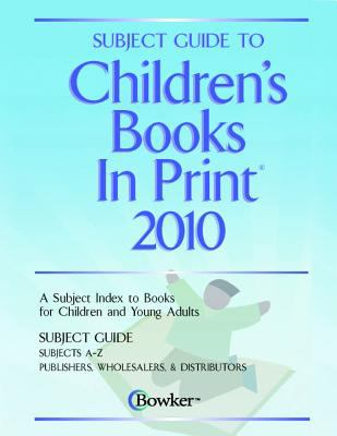 Subject Guide to Childrens Books in Print