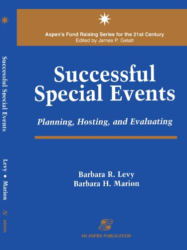 Successful Special Events: Planning, Hosting and Evaluating 9780834209350