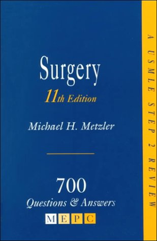 Surgery: 700 Questions & Answers 9780838561959