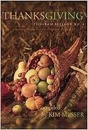 Thanksgiving Program Builder No. 4: Creative Resources for Program Directors 9780834177871