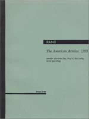The American Armies: 1993 9780833015044
