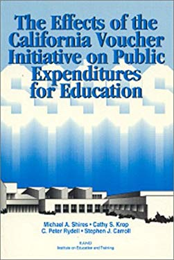The Effects of the California Voucher Initiative on Public Expenditures for Education 9780833014900