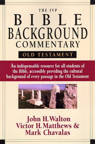 The IVP Bible Background Commentary: Old Testament 9780830814190
