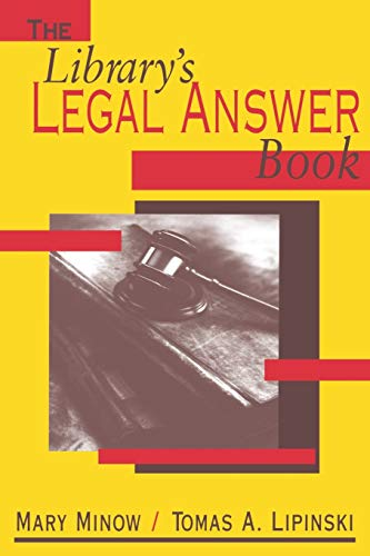 The Library's Legal Answer Book 9780838908280