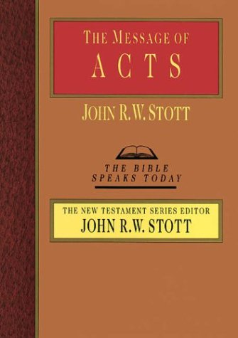The Message of Acts 9780830812363
