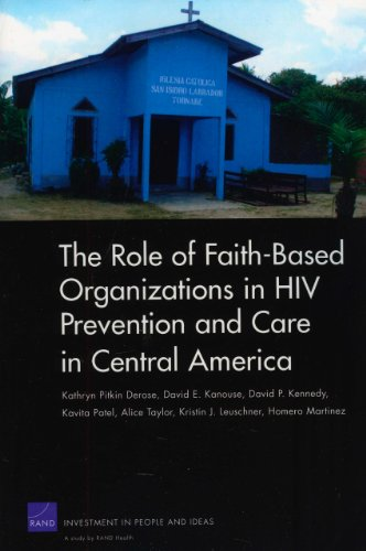 The Role of Faith-Based Organizations in HIV Prevention and Care in Central America 9780833049537