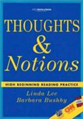Thoughts & Notions: High Beginning Reading Practice 3670906