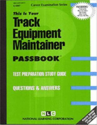 Track Equipment Maintainer 9780837333076